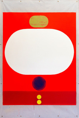 tom martinelli canvas acrylic, fluorescent acrylic on canvas