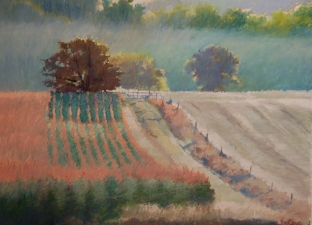 Tom Maakestad General Archives of Sold Works Oil Pastel on Paper