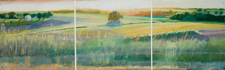 Tom Maakestad General Archives of Sold Works Oil Pastel & mixed media on Paper