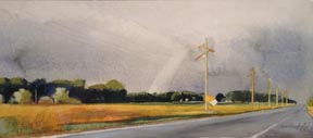 Tom Maakestad Oil and Dry Pastel Archive Watercolor
