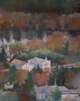 Tom Maakestad General Archives of Sold Works Oil Paint on Linen Board