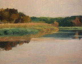 Tom Maakestad Marine on St. Croix River Paintings Oil on Panel
