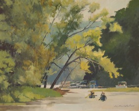 Tom Maakestad General Archives of Sold Works Oil on Canvas