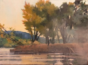 Tom Maakestad Woods and Water Portfolio Oil on Linen