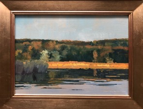 Tom Maakestad Woods and Water Portfolio Oil on Canvas