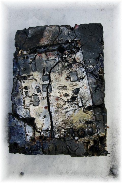 Tomoko Amaki Abe Wall work raku clay, glazes