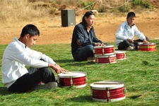 Tongji Philip Qian 2014 End-of-Semester Drum Ensemble