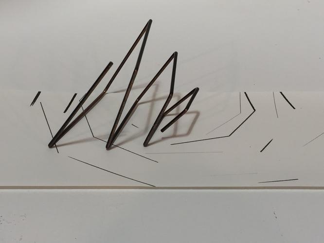 Tongji Philip Qian recent works Steel rod, graphite