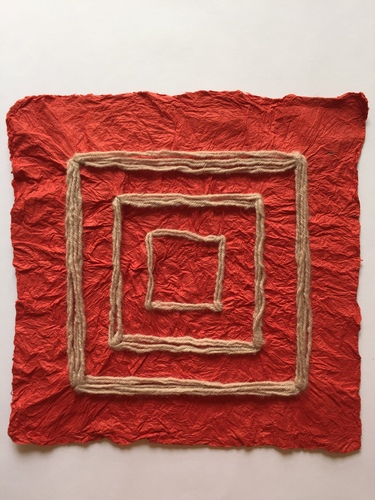 Tongji Philip Qian recent works Joomchi paper sculpture