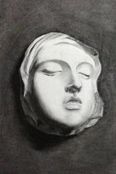Tongji Philip Qian Sight-size Portraiture Charcoal drawing