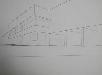 Tongji Philip Qian Architectural Drawing Pencil drawing