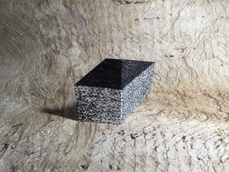 Tongji Philip Qian Dimensillusion Paper sculpture with printed and drawn surfaces