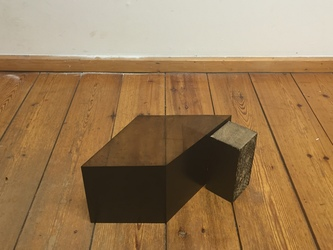 Tongji Philip Qian Dimensillusion Sculpture made of plastic etching plate with printed surfaces