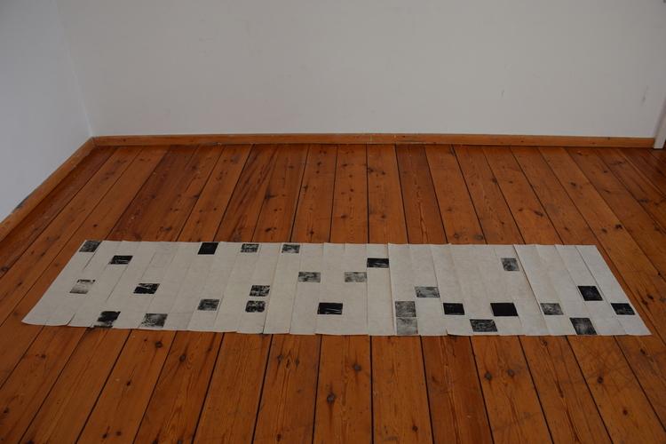 Tongji Philip Qian recent works Woodblock Print