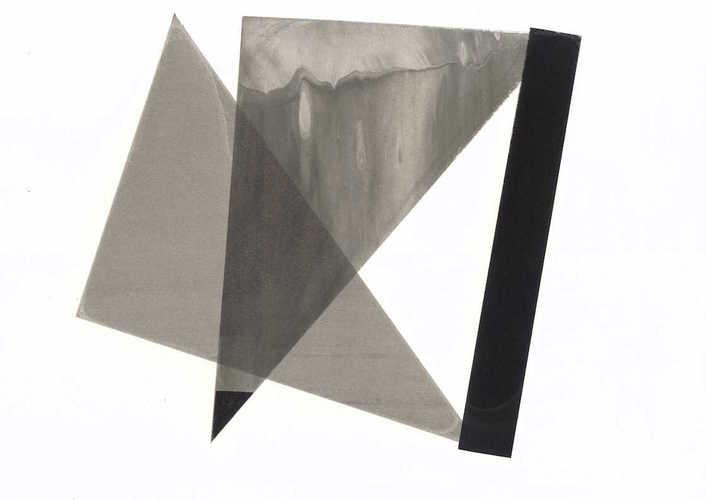 Tongji Philip Qian recent works Green silkscreen (screen made of plastic bags)