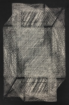 Tongji Philip Qian Chance and Forms 2016 Woodblock print