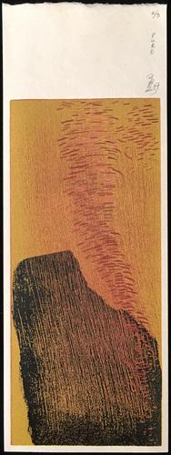 Tongji Philip Qian recent works Woodblock print (reduction)