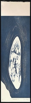 "Tongji Philip Qian ""Disquality"" Woodblock print"