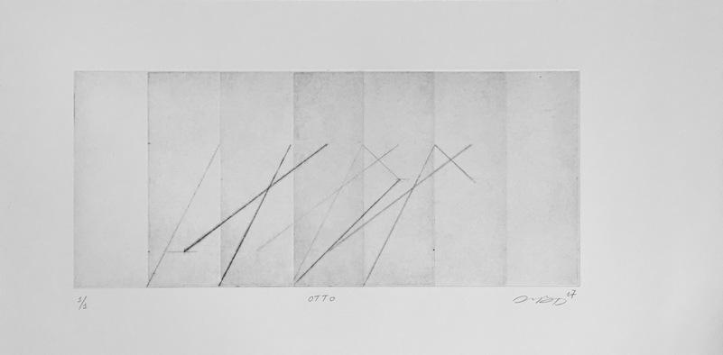 Tongji Philip Qian recent works Intaglio print