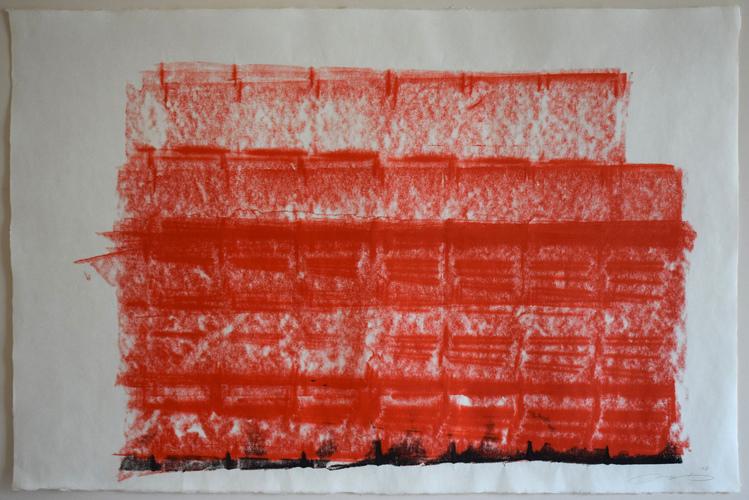 Tongji Philip Qian recent works Ink on paper