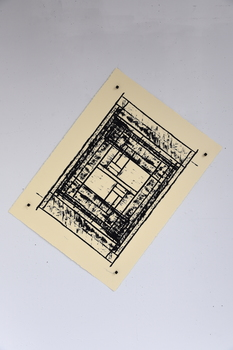 Tongji Philip Qian O.E. Silkscreen print