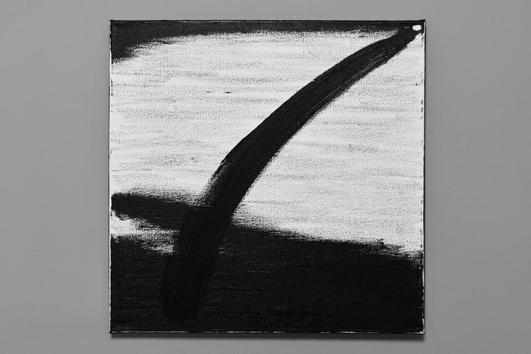 Tongji Philip Qian recent works Oil stick on canvas