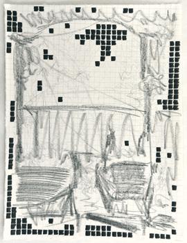 Tongji Philip Qian Wunderground Graphite and ink on washi