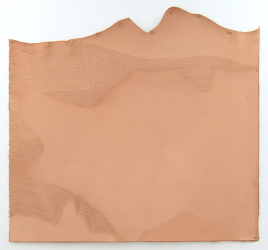 Tongji Philip Qian recent works Vegetable-tanned leather