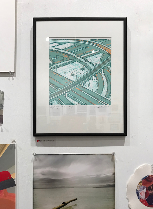 Toni Silber-Delerive Exhibitions Images Highways in NJ