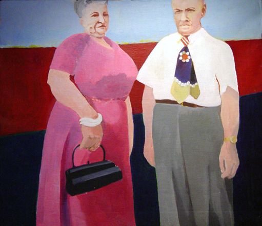 Figurative Wilfred and Wife SOLD