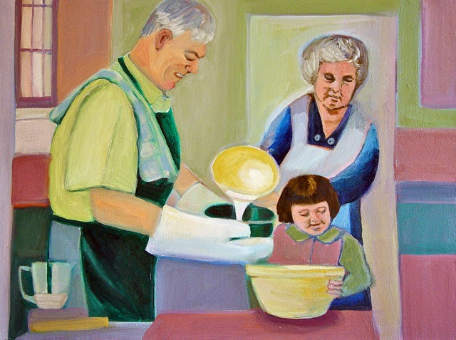Figurative Sunday in the Kitchen SOLD