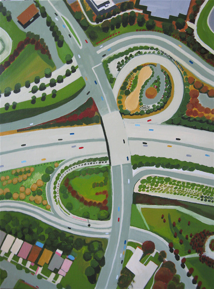 Aerialscapes North Calif Intersection SOLD