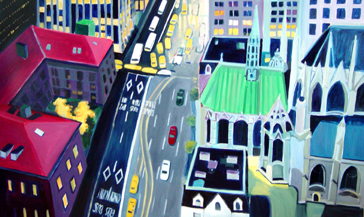 Aerialscapes St. Patrick's NYC SOLD