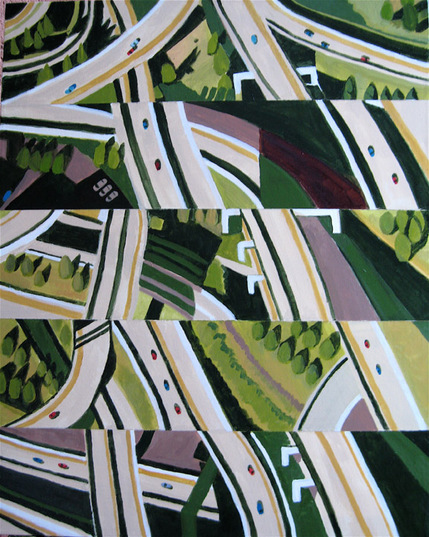 Aerialscapes Expressways, dissected