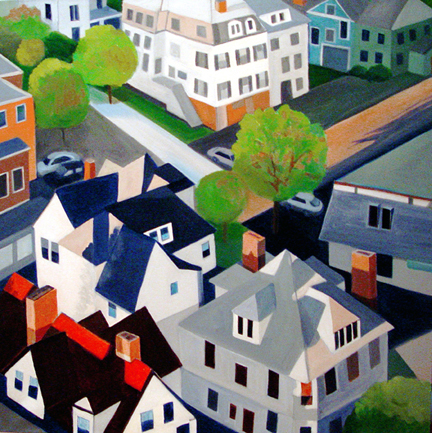 Aerialscapes New England Village SOLD