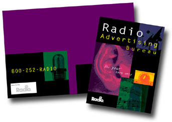 ToniDesign Radio Advertising Bureau Folder