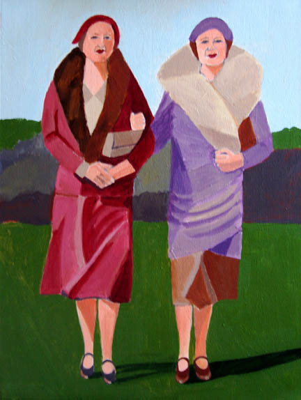 Figurative Girlfriends SOLD