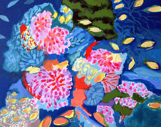 Figurative Coral Reef SOLD