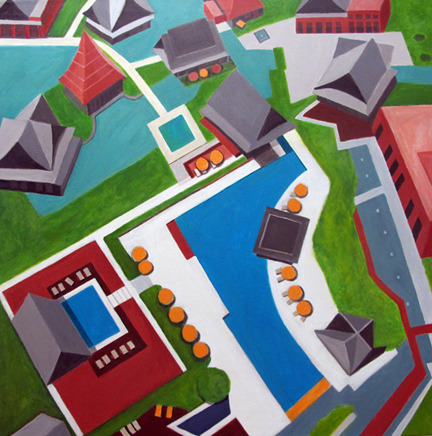 Aerialscapes Chinese Houses