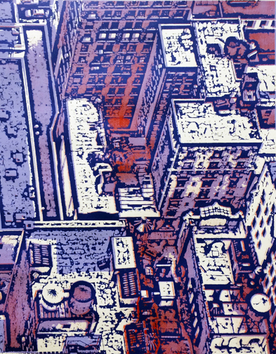 Prints NYC Buildings