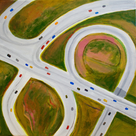 Aerialscapes Circular Highways SOLD