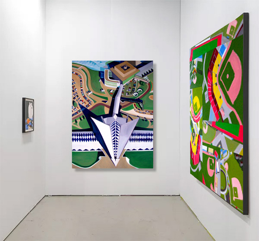 Exhibitions Images Adelante Gallery, NYC, Solo Show