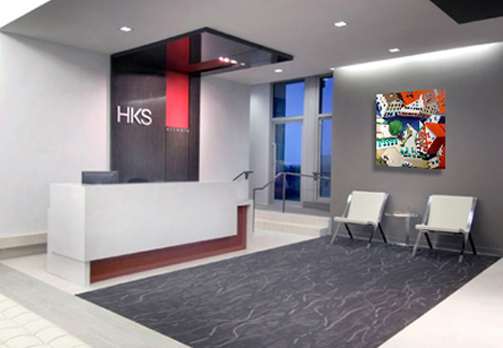Installations HKS Office Lobby