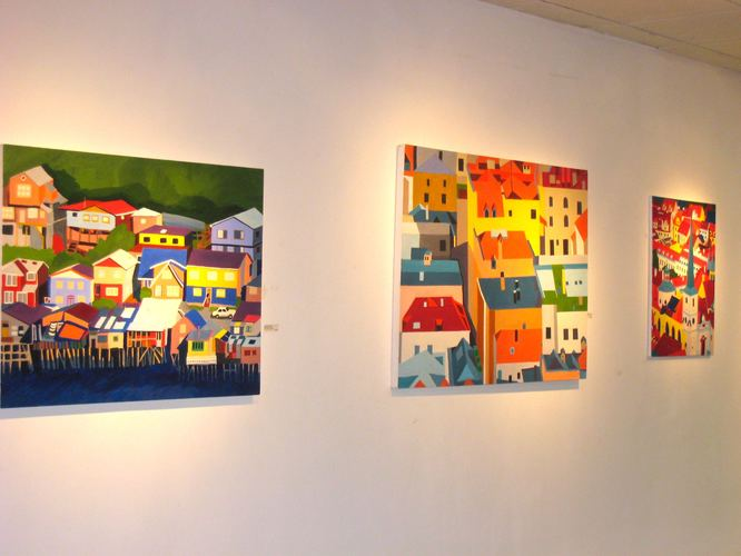 Exhibitions Images Adelante Artists Gallery in Chelsea, Solo Show