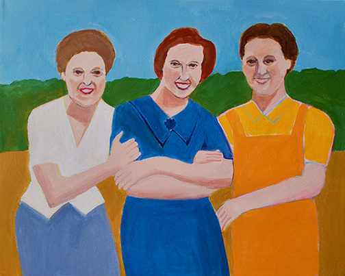 Figurative Three Sisters