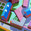 Aerialscapes acrylic on canvas