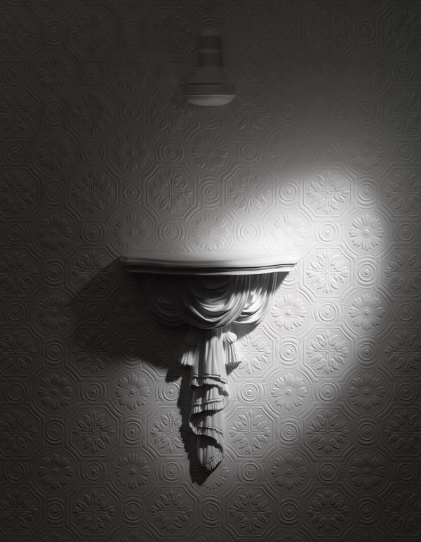 Photographic Work Anaglypta Dreams; Sconce (right)