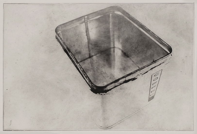 Varda Lazar Households Photopolymer intaglio print
