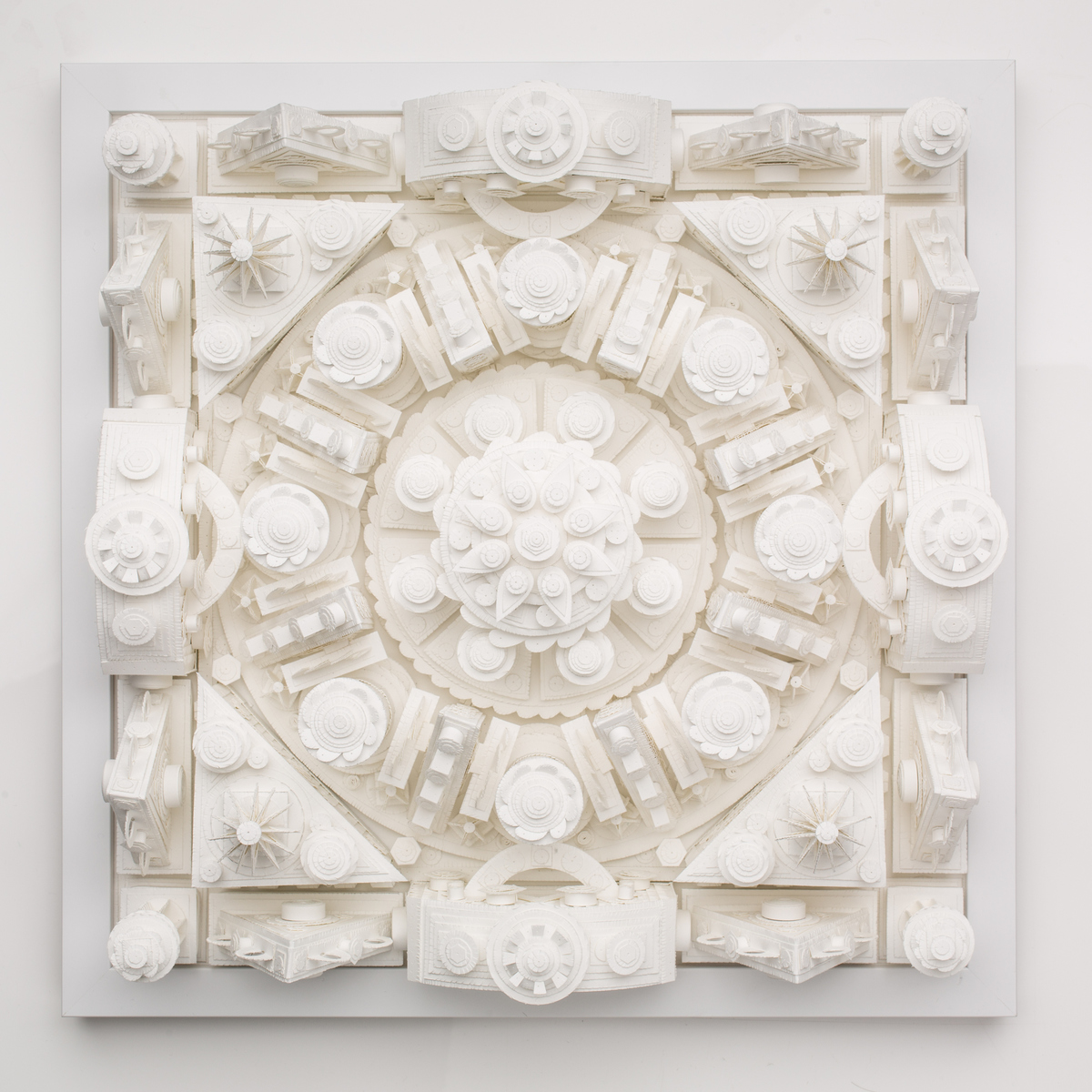 MICHAEL VELLIQUETTE Current Paper Sculpture Paper sculpture