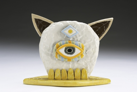 MICHAEL VELLIQUETTE Ceramics Vitreous china, acrylic
